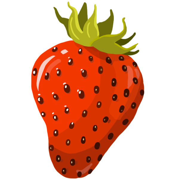 Une bonne salade de fraises de Plougastel bien juteuses