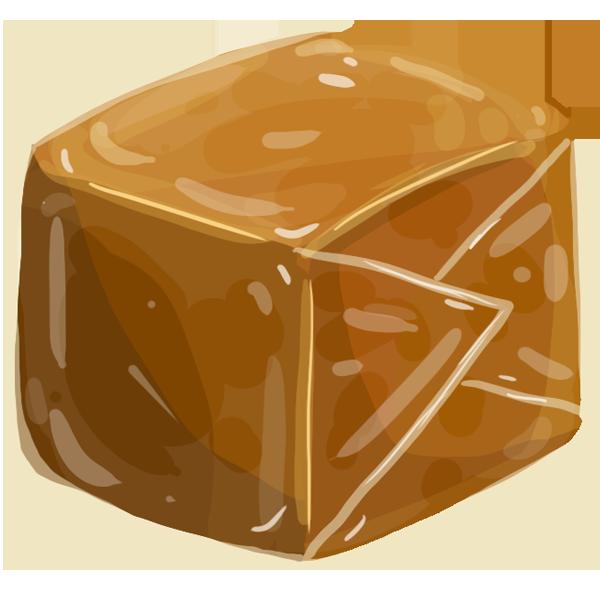 Un petit sachet de caramels au beurre salé en cas de coup de mou
