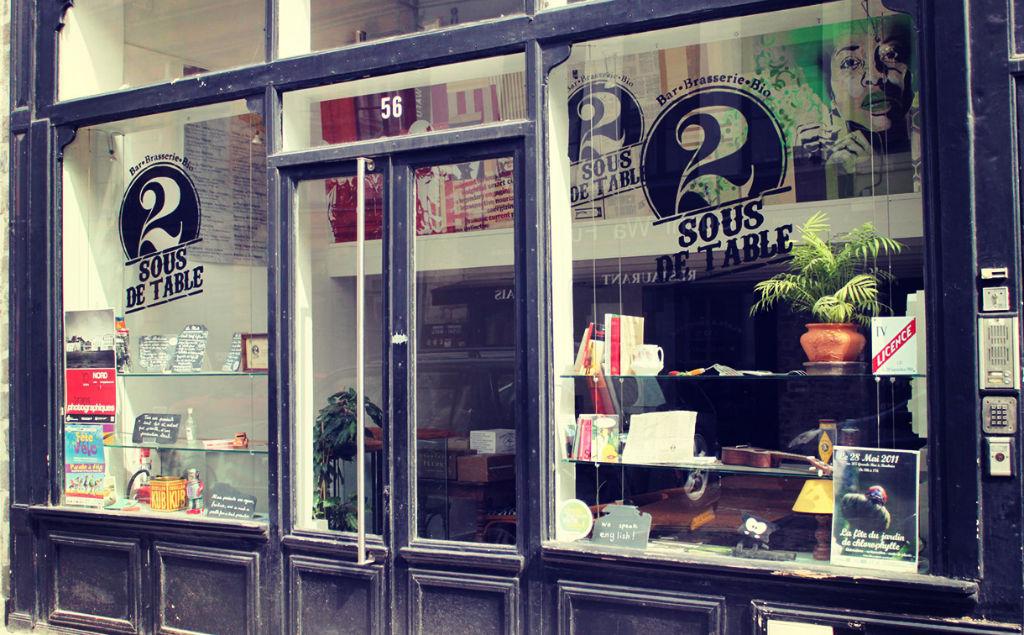 Restaurant Lille 2 Sous de Table
