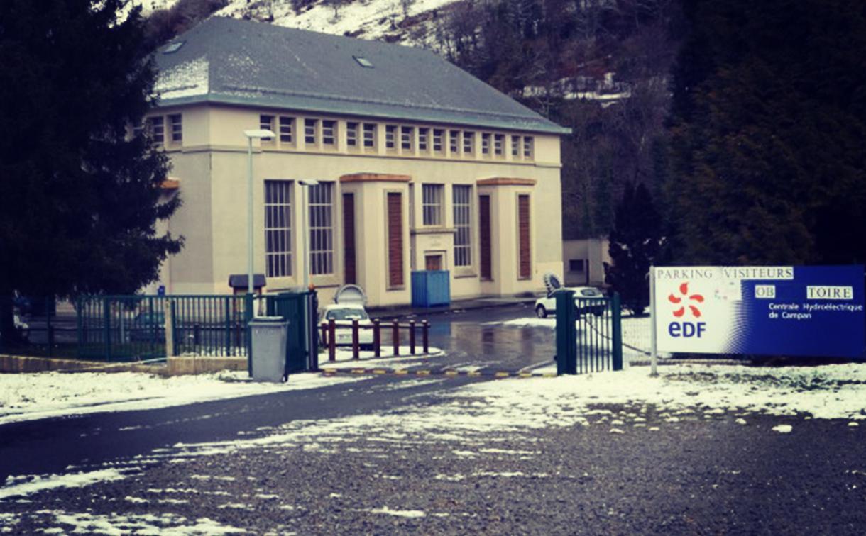 Comptoir Des Entreprises Magazine des savoir faire Tour de France 2015 Etape 11 Centrale Hydraulique EDF Campan