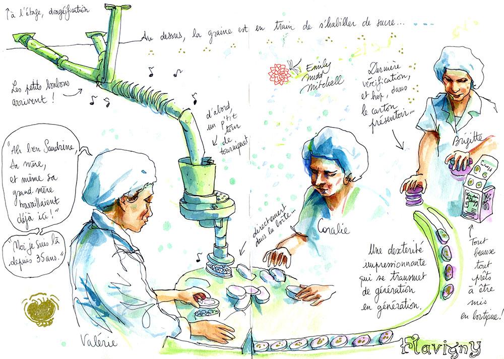 We Savoir Faire - Les femmes de la fabrique Les Anis de flavigny - Emily Nudd-Mitchell