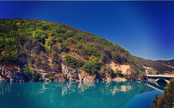 se baigner lac castillon saint-jean-du-verdon