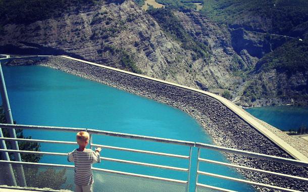 visite barrage edf serre poncon