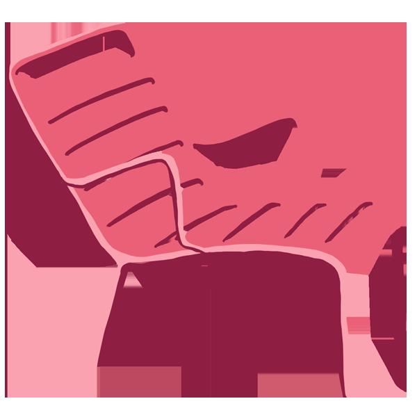 La chaise Fermob