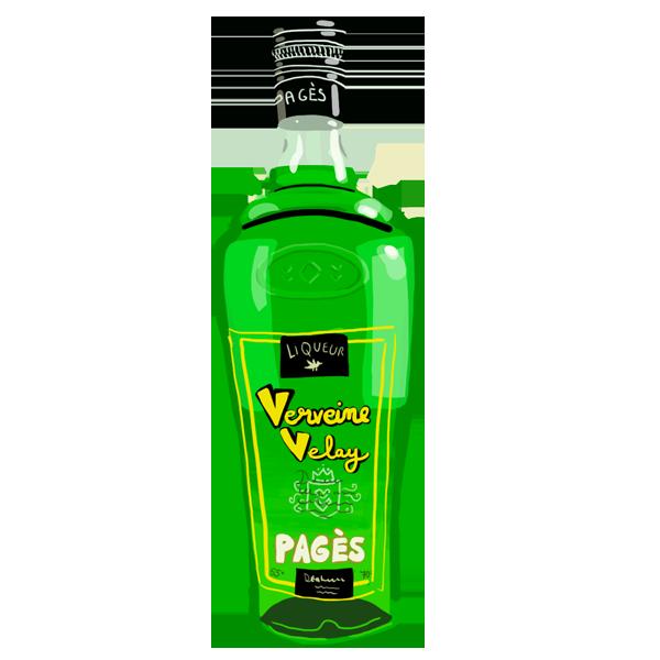 La Liqueur de Verveine Velay