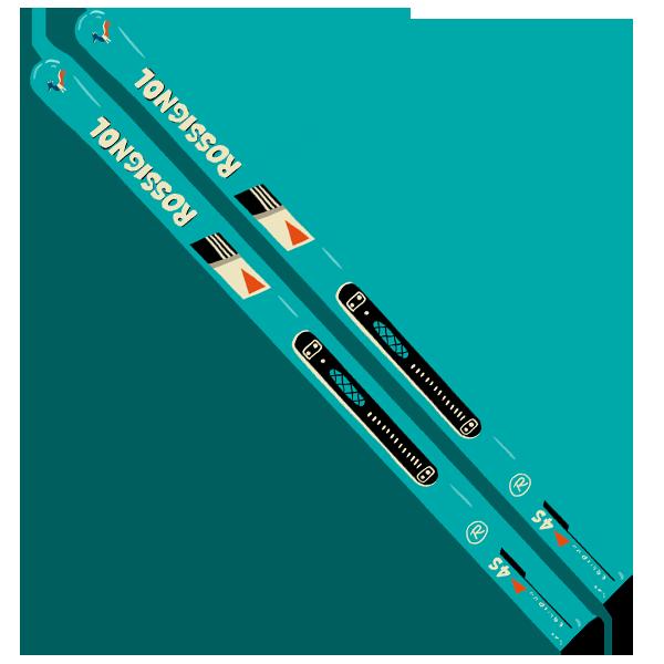 Les Skis Rossignol