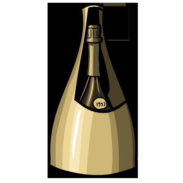 Le seau à champagne de l\'Orfèvrerie d\'Anjou